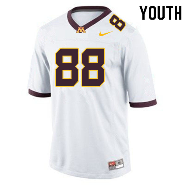 Youth #88 Brevyn Spann-Ford Minnesota Golden Gophers College Football Jerseys Sale-White